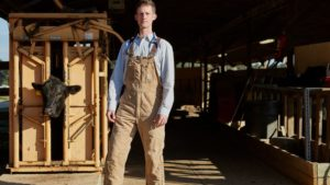 Cover photo for Dudley Named NCVMA's Young Veterinarian of the Year