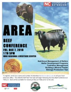 Area Beef Conference flyer image 1