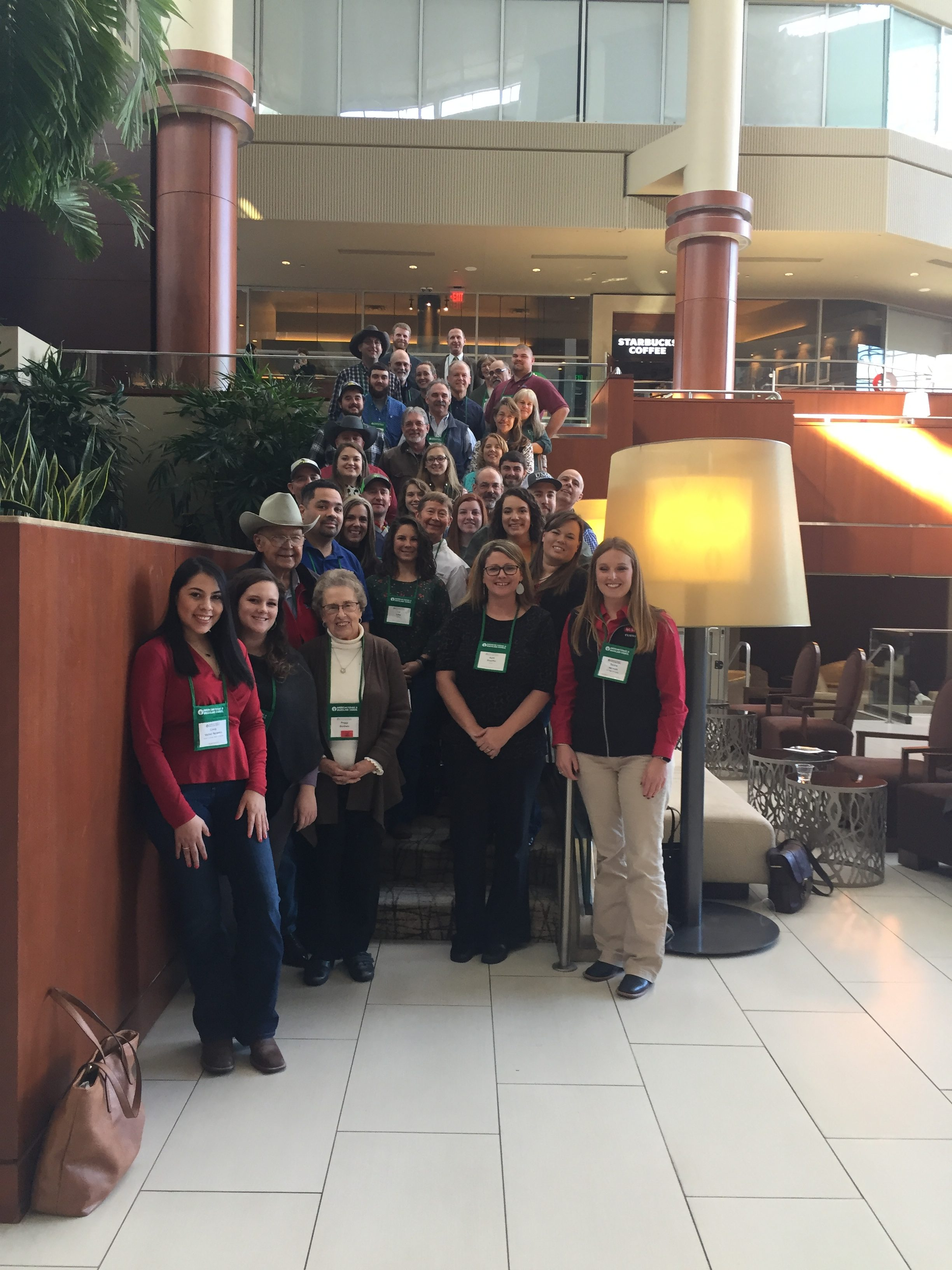 Image of North Carolina residents at AFGC